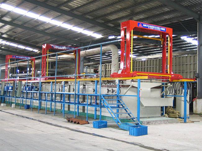挂镀双层镍铬自动生产线