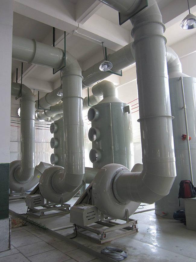 废气处理塔(室内)
