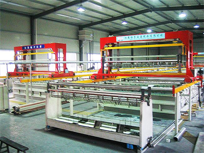 炭棒挂镀铜自动生产线