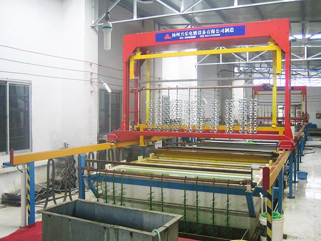 塑料电镀自动生产线