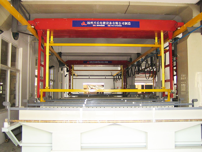 上悬挂式自动生产线
